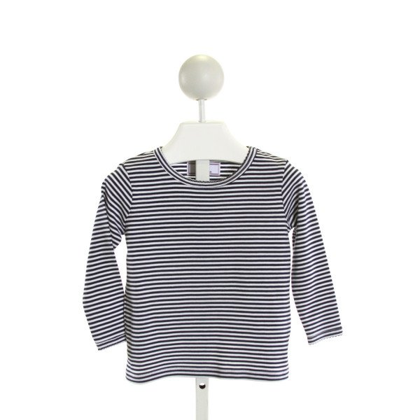 CPC  NAVY  STRIPED  KNIT LS SHIRT