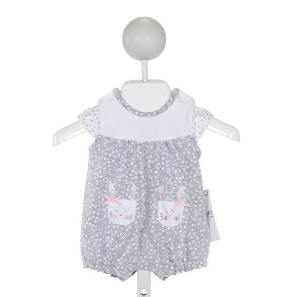 MAYORAL  GRAY COTTON  PRINTED DESIGN LAYETTE