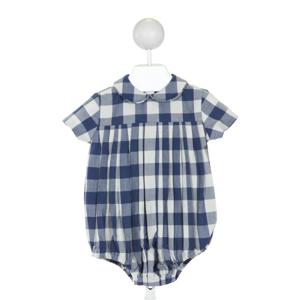 JAMES & LOTTIE  BLUE  PLAID  BUBBLE