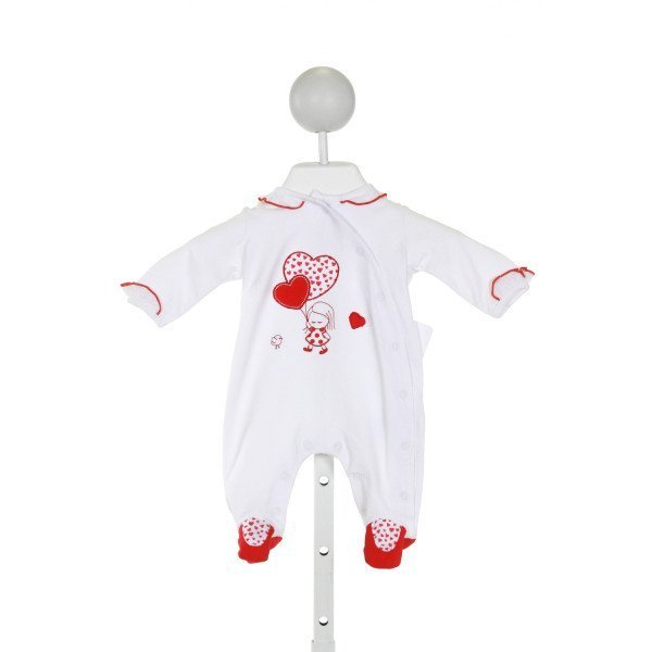 MAYORAL  WHITE   APPLIQUED LAYETTE