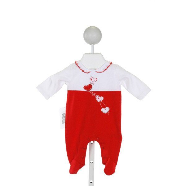 MAYORAL  RED   APPLIQUED LAYETTE