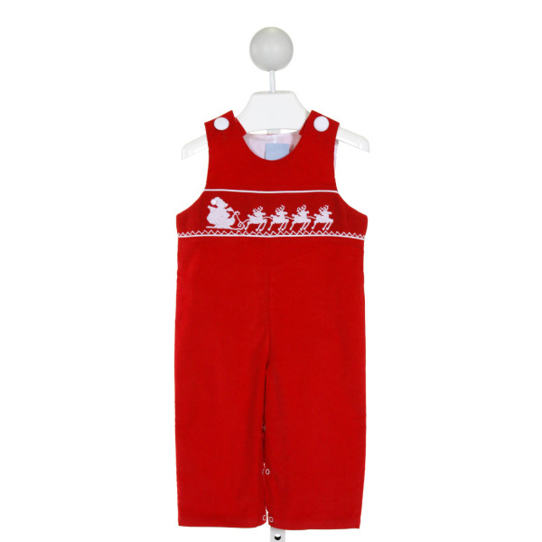 THREE SISTERS  RED CORDUROY   LONGALL/ROMPER