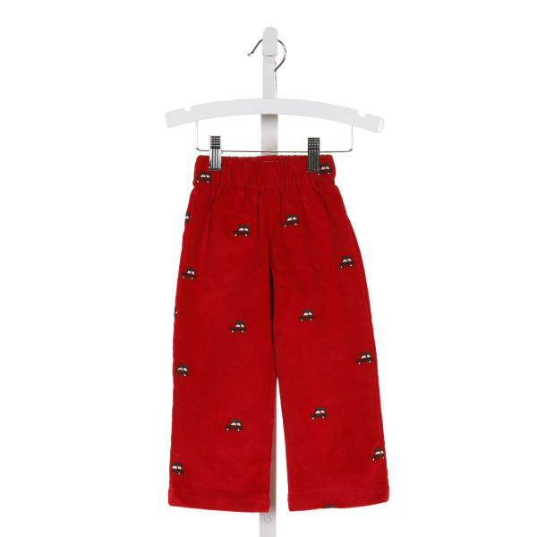 CPC  RED CORDUROY   PANTS