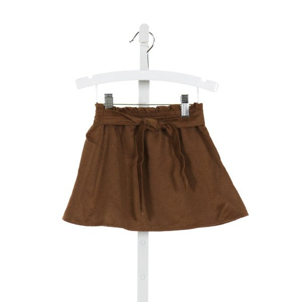 RUFFLE BUTTS  BROWN    SKIRT