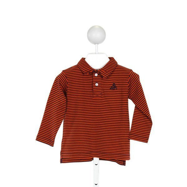 CPC  ORANGE    KNIT LS SHIRT