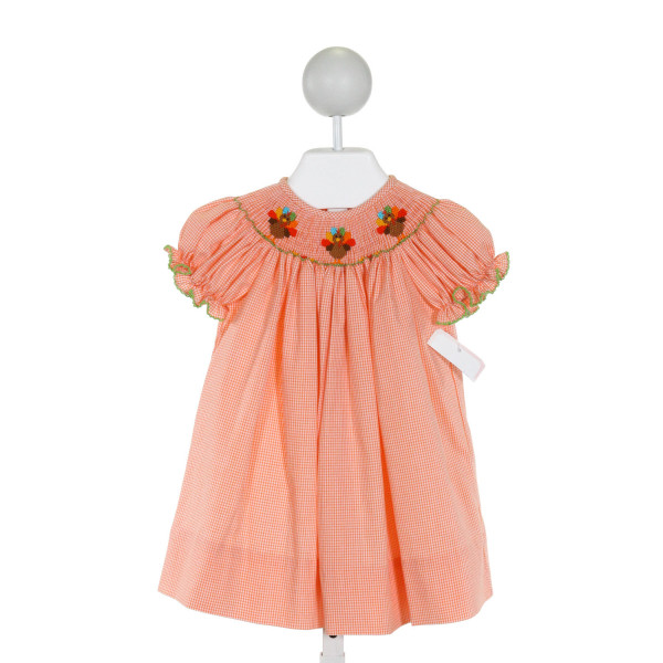 PETIT BEBE  ORANGE    DRESS