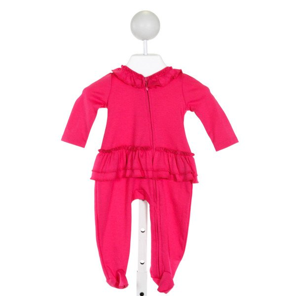 LEMON LOVES LAYETTE  PINK COTTON   LAYETTE WITH RUFFLE