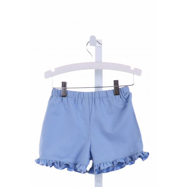 KATE & LIBBY  BLUE    SHORTS WITH RUFFLE