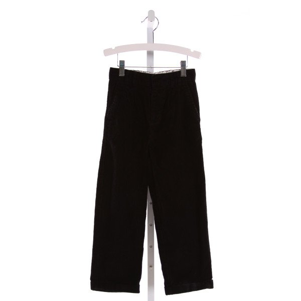 IZOD  BLACK CORDUROY   PANTS