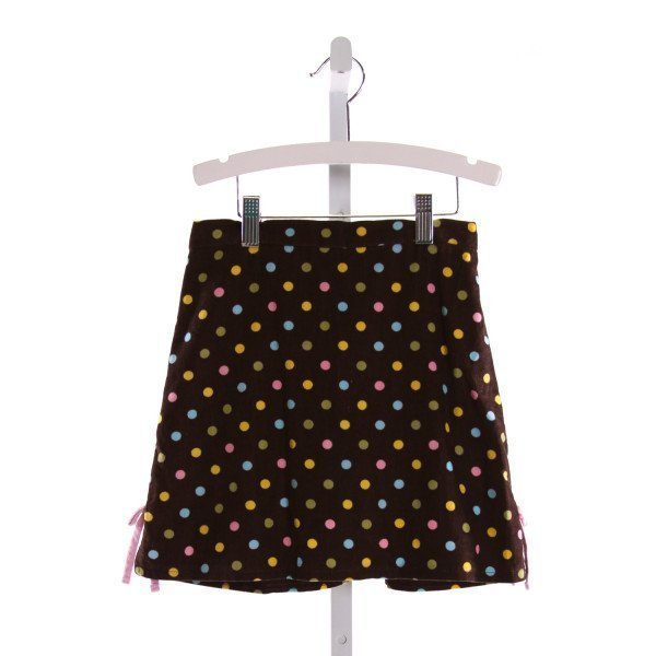 HANNAH KATE  MULTI-COLOR CORDUROY POLKA DOT  SKORT