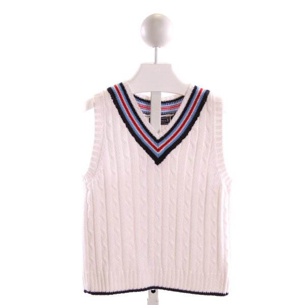 KITESTRINGS  MULTI-COLOR  STRIPED  SWEATER VEST