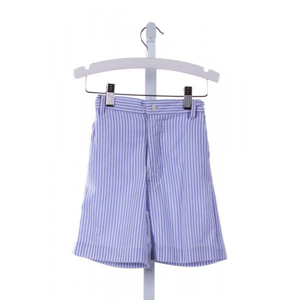 OLD WORLD LINENS  MULTI-COLOR SEERSUCKER STRIPED  SHORTS