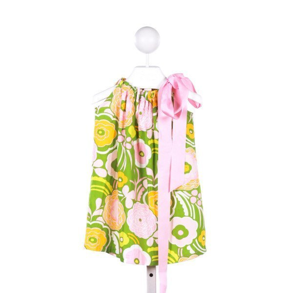NAIN & JOE PINK, GREEN AND YELLOW FLORAL DRESS