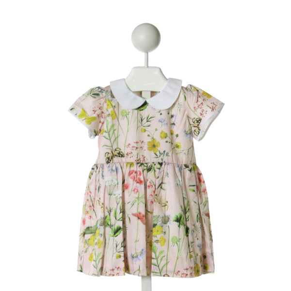 LIVLY PINK  PINK FLORAL  COTTON DRESS