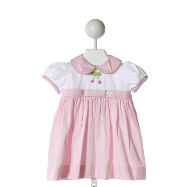 MARY & GRACE  PINK   EMBROIDERED DRESS