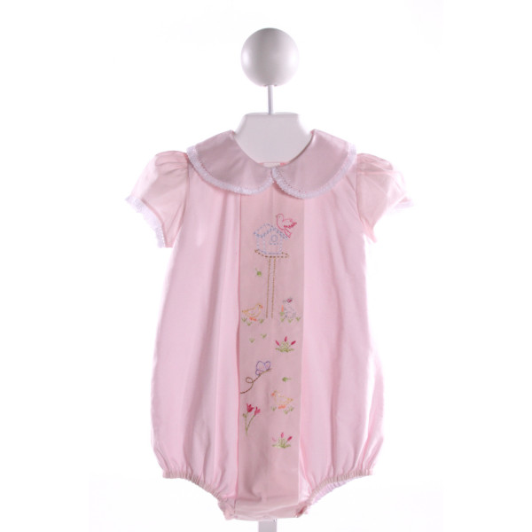 DONDOLO  LT PINK COTTON  EMBROIDERED BUBBLE