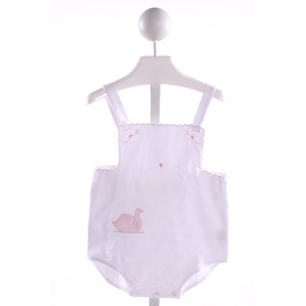 PIXIE LILY  WHITE COTTON  EMBROIDERED BUBBLE