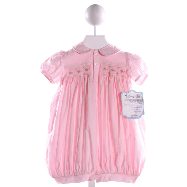 REMEMBER NGUYEN  PINK COTTON  SMOCKED BUBBLE