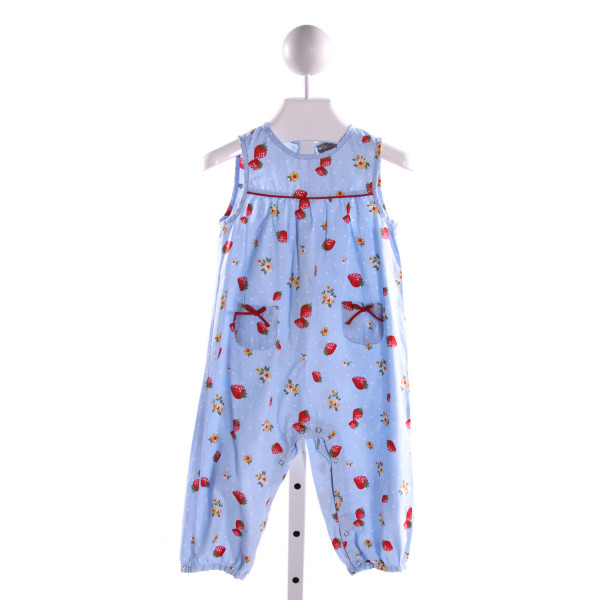 PETIT CONFECTIONS  MULTI-COLOR  POLKA DOT PRINTED DESIGN ROMPER