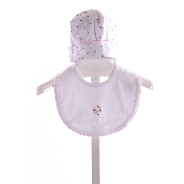 KISSY KISSY  MULTI-COLOR  FLORAL EMBROIDERED ACCESSORIES - HEADWEAR WITH PICOT STITCHING