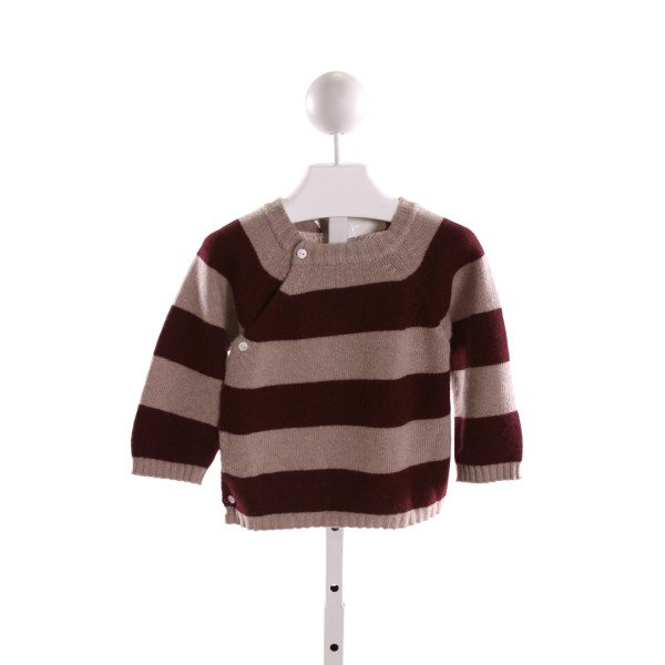 PORTOLANO KIDS  MULTI-COLOR  STRIPED  SWEATER