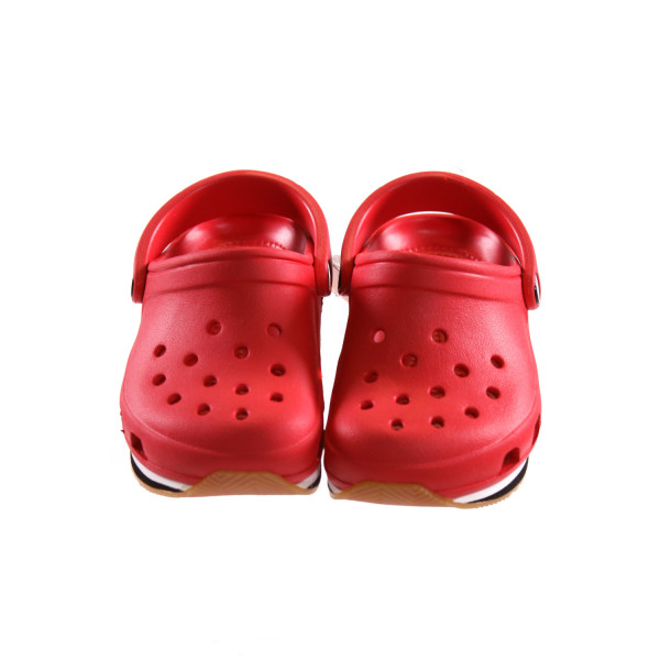 RED CROCS *SIZE 6-7, NWT