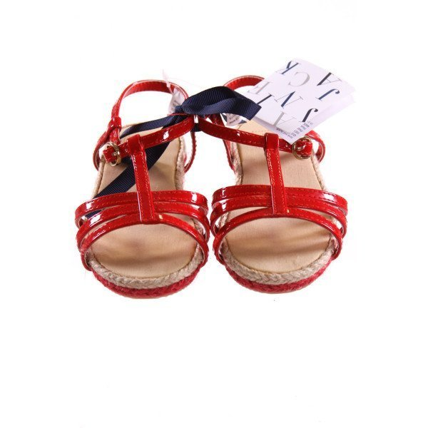 JANIE AND JACK RED STRAPPY SANDALS *SIZE 6, NWT
