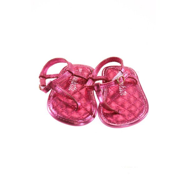 TRUMPETTE HOT PINK STRAPPY SANDALS *SIZE 3, VGU - LIGHT WEAR