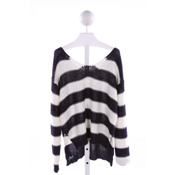 PEOPLE'S PROJECT LA  MULTI-COLOR  STRIPED  SWEATER