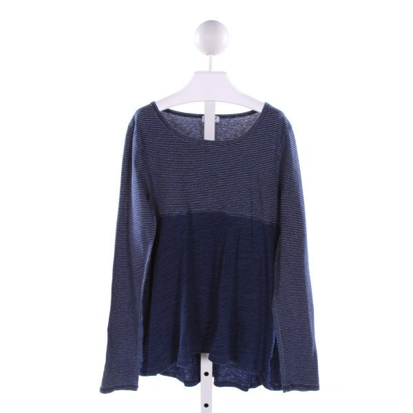 SPLENDID  NAVY  STRIPED  KNIT LS SHIRT