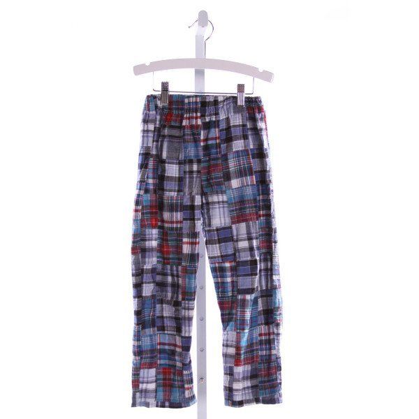 SOUTHERN SUNSHINE KIDS  MULTI-COLOR  PLAID  PANTS