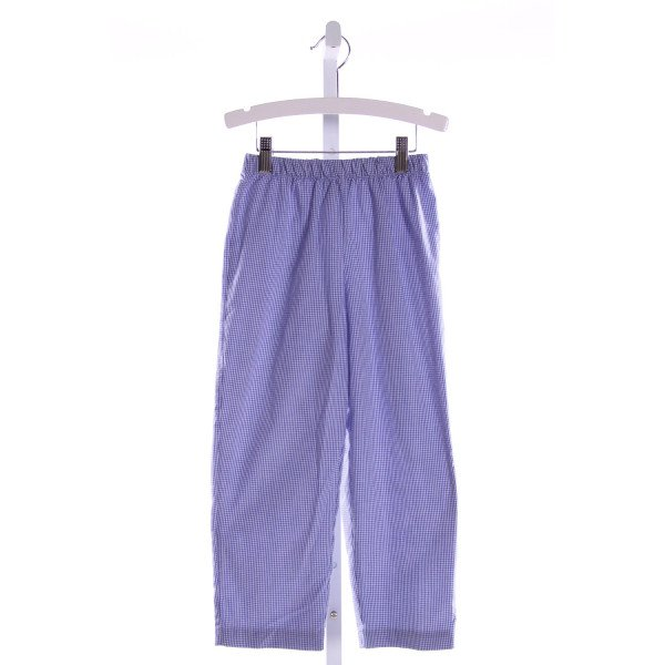 NO TAG  ROYAL BLUE  GINGHAM  PANTS