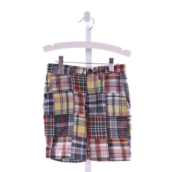 POLO BY RALPH LAUREN  MULTI-COLOR  PLAID  SHORTS