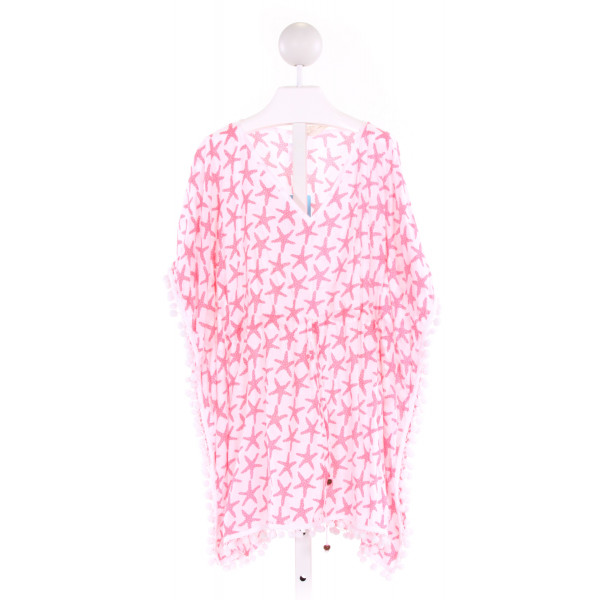 SNAPPER ROCK  PINK   PRINTED DESIGN COVER UP