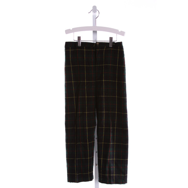 BUSY BEES  MULTI-COLOR  PLAID  PANTS