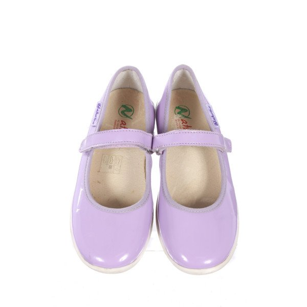 NATURINO PURPLE PATENT LEATHER SHOES TODDLER SIZE 11 (EU 28)