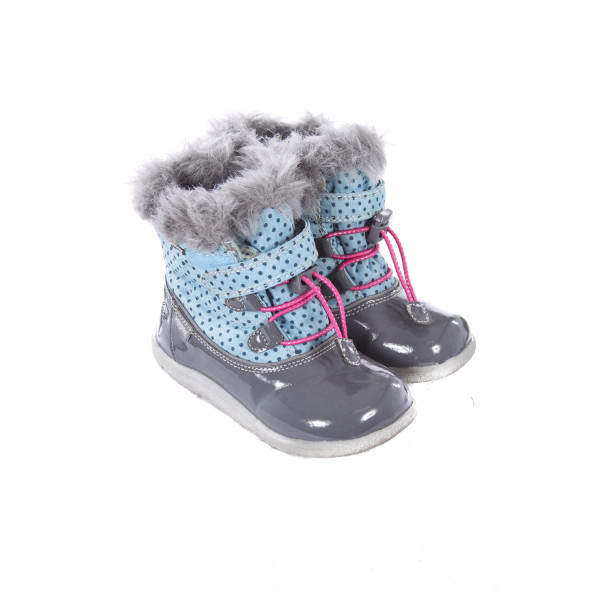 SEE KAI RUN BLUE WINTER BOOT TODDLER SIZE 9