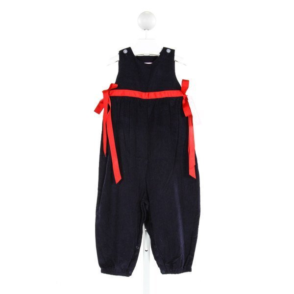 LULLABY SET  NAVY CORDUROY   ROMPER