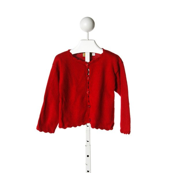 CLAVER  RED COTTON   SWEATER