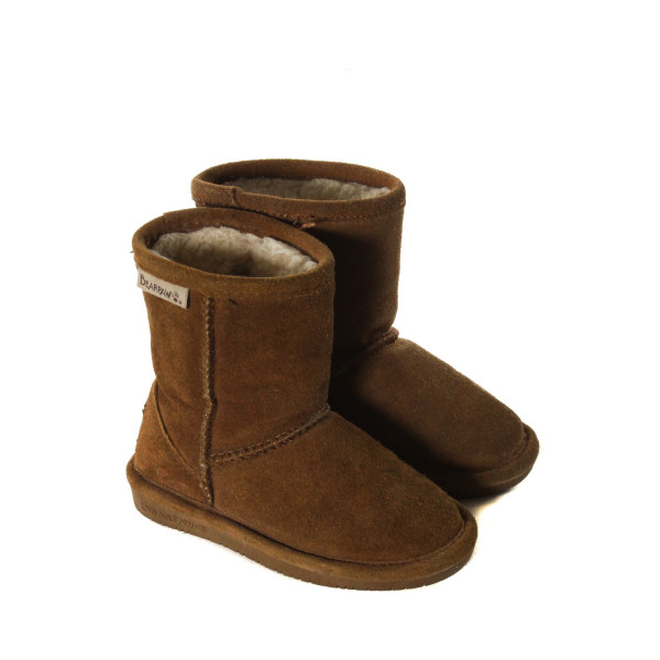 BEARPAW BROWN SUEDE BOOTS TODDLER SIZE 7 *VGU (LIGHT WEAR)