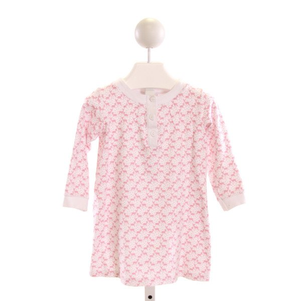 DONDOLO  PINK  PRINT  KNIT DRESS