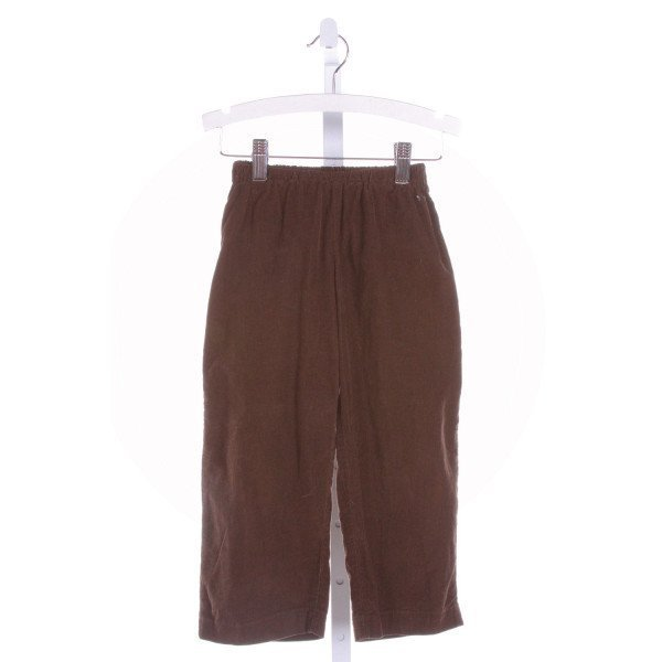 LITTLE LAUNDRY  BROWN CORDUROY   PANTS