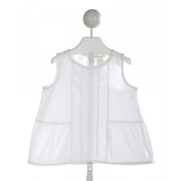 CREWCUTS  OFF-WHITE    CLOTH SS SHIRT