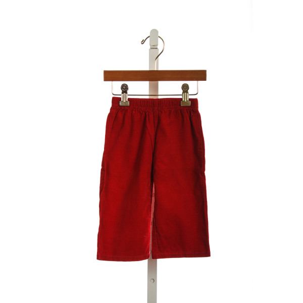 BLANKS BOUTIQUE RED CORD PANTS