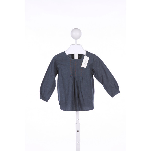 KETIKETA  BLUE    CLOTH LS SHIRT