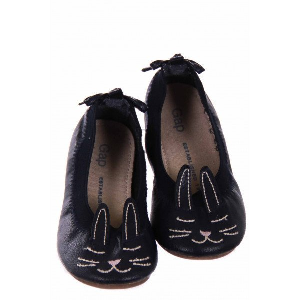 GAP NAVY FLATS WITH BUNNY DESIGN *SIZE 8 *EUC