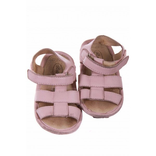 OLD SOLES PINK LEATHER SANDALS *SIZE 7 *GUC