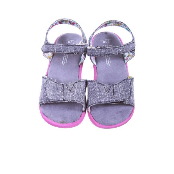 TOMS CHAMBRAY SANDALS *EUC