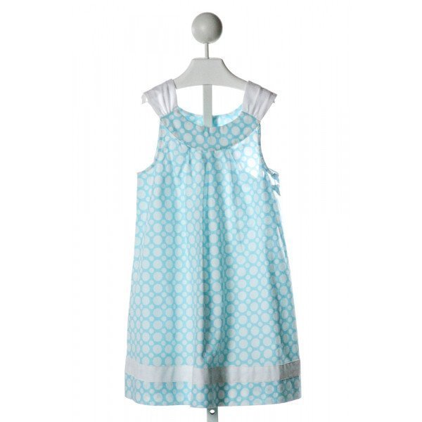 BAILEY BOYS  LT BLUE  POLKA DOT  DRESS