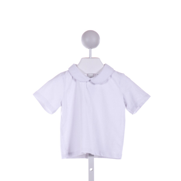 THE SMOCKING BUG  WHITE    KNIT SS SHIRT